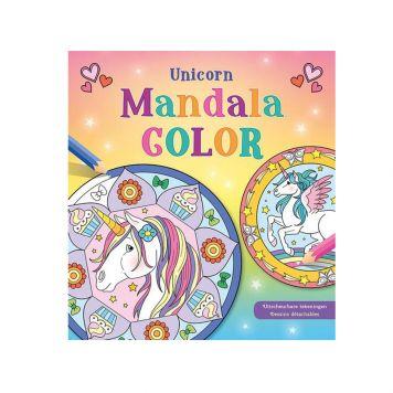 Kleurboek Unicorn Mandala Color