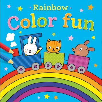 Kleurboek Rainbow Color Fun