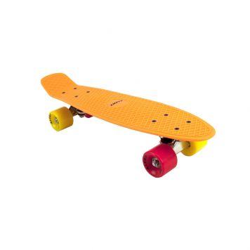 Skateboard Neon Oranje 55 Cm ABEC 7 Alert