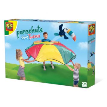 SES Spel Parachute Vliegende Toekan