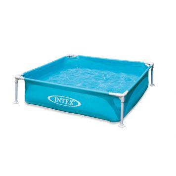 Zwembad Frame Mini Blauw 122 X 122 X 30 Cm