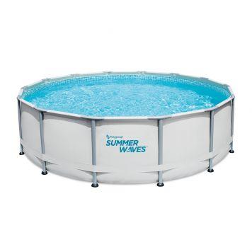 Summer Waves Zwembad Elite Frame 427 X 107 cm + filterpomp