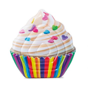 Intex Luchtbed Cupcake 142 x 135 cm