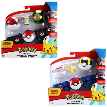 Pokémon Clip N Go Poke Ball Belt Set