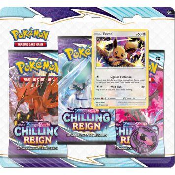 Pokémon Reign Sword & Shield  3-Boosterblister  Assorti