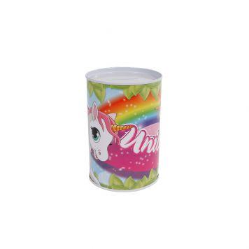 Spaarpot Metaal Unicorn 8,5x11,5cm
